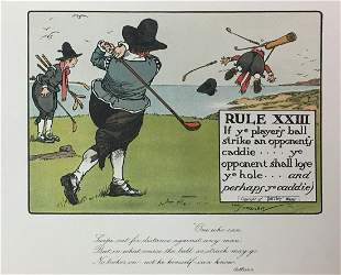 Chas Crombie - The Rules of Golf XXIII