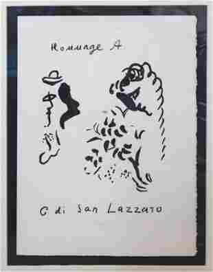 Marc Chagall - Hommage a di San Lazzaro