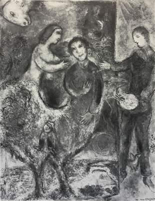 Marc Chagall - La Muse