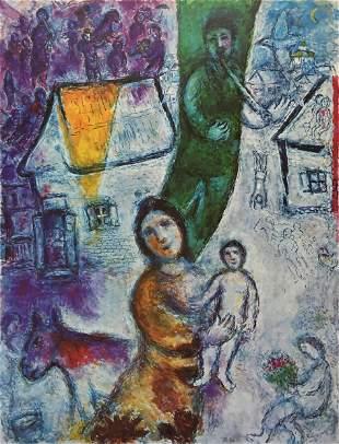 Marc Chagall - Lumiere Verte