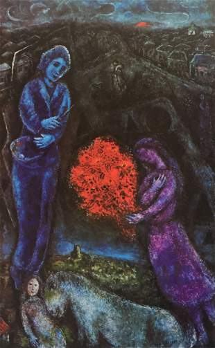 Marc Chagall - Saint-Paul au Soleil Couchant