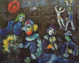 Marc Chagall - Carnaval Nocturne