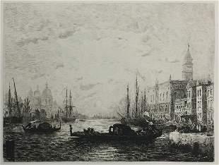 Felix Ziem - Venise au coucher du Soleil