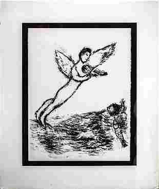 Marc Chagall - The Angel