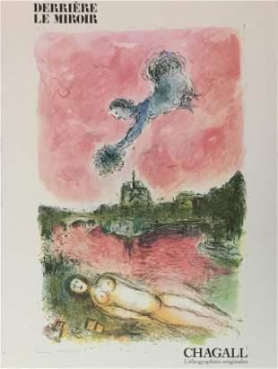 Marc Chagall - Derriere le Miroir No. 132