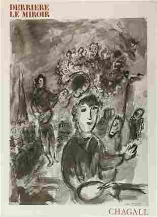 Marc Chagall - Derriere le Miroir No. 225
