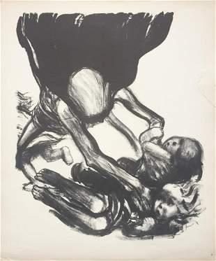 Kathe Kollwitz - Death Seizes the Children
