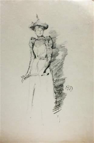 James McNeill Whistler - Gants de suede