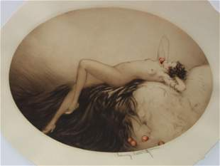 Louis Icart - Eve (Alternate Coloring)