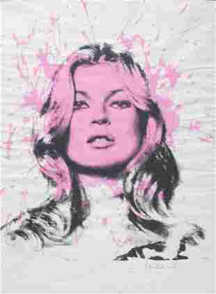 Mr. Brainwash - Kate Moss - Cover Girl (Pink)