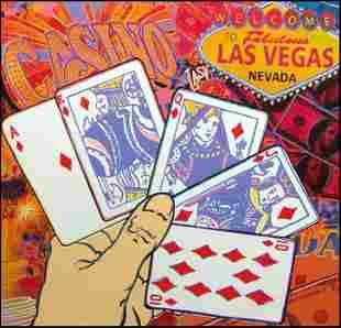 Steve Kaufman - Welcome to Las Vegas - Poker