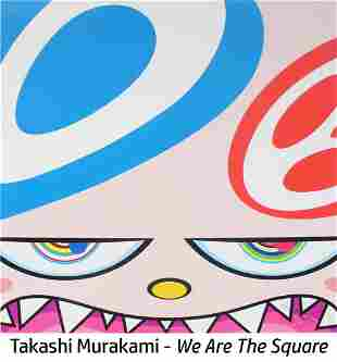 Takashi Murakami - Untitled III from We Are the Square