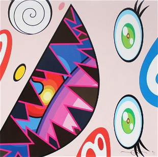 Takashi Murakami - Untitled II from We Are the Square