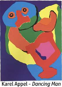 Karel Appel - Dancing Man