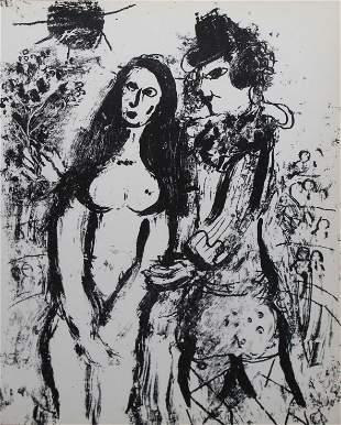 Marc Chagall - Clown In Love
