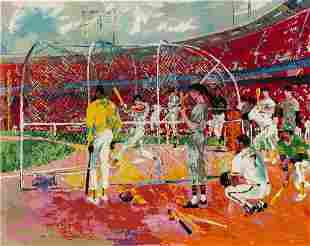 Leroy Neiman - Bay Area Baseball