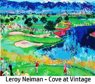 Leroy Neiman - Cove at Vintage