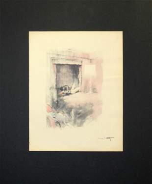 Louis Icart - Untitled Love