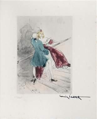 Louis Icart - Swept Away