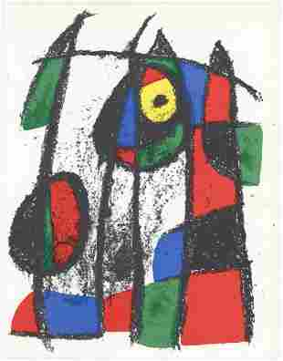 Joan Miro - Lithographie Originale VII