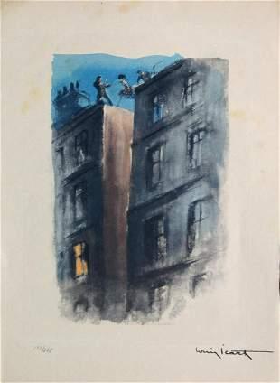 "Louis Icart - Untitled from ""Destin De Femme"""
