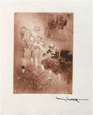 Louis Icart - Foot Fancier