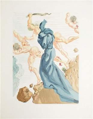 Salvador Dali - Les Margelles du Phlegeton
