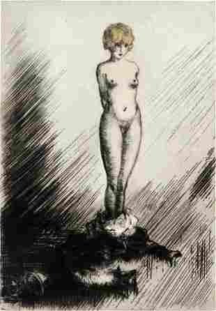 "Louis Icart - Exposed from ""L'ingenue Libertine"""