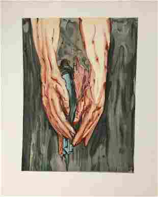 Salvador Dali - In the Hands of Anteus