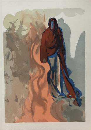 Salvador Dali - The Waterfall at Phlegethon