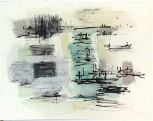 Jean Rene Bazaine - Composition