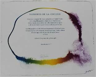 "Paul Jenkins - Title Page from ""Euphories de la"