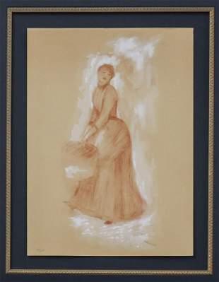 Pierre-Auguste Renoir - Etude Pour Les Parapluies La