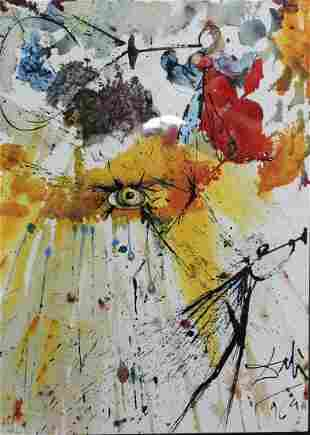 Salvador Dali - The liturgy of Penance