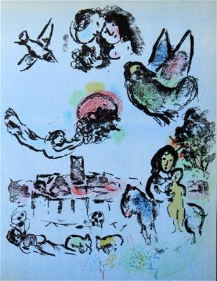 Marc Chagall - Nocturne in Venice
