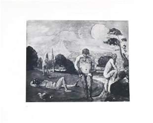 Paul Cezanne (after) - Les Baigneurs au repos