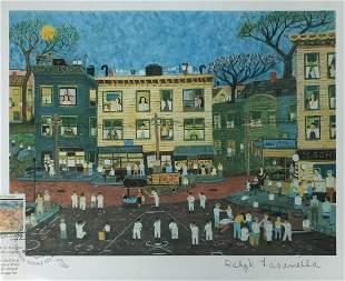 Ralph Fasanella - The Old Neighborhood