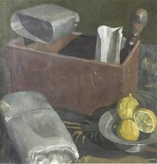Unknown Artist - Untitled Still Life II (Oil Painting)