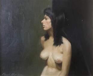 Paul Gorka - Untitled Figure Study (Oil Painting)