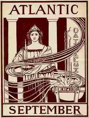 R.L. Emerson - Atlantic/September (Vintage Poster)