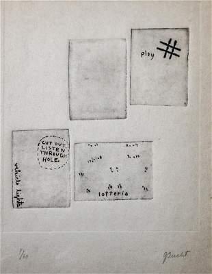 George Brecht - Untitled