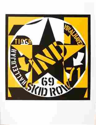 Robert Indiana - 69 Skid Row