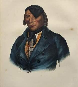 Charles Bird King - Waa-Pa-Shaw