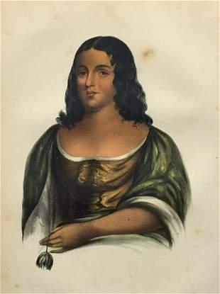 Charles Bird King - Pocahontas