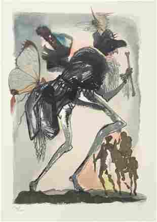Salvador Dali - Le Tricorne 7