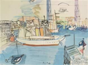 Raoul Dufy (After) - Le Vieux Port de Marseille