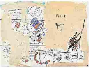Jean-Michel Basquiat - Wolf Sausage