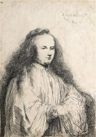 Rembrandt van Rijn - The Little Jewish Bride