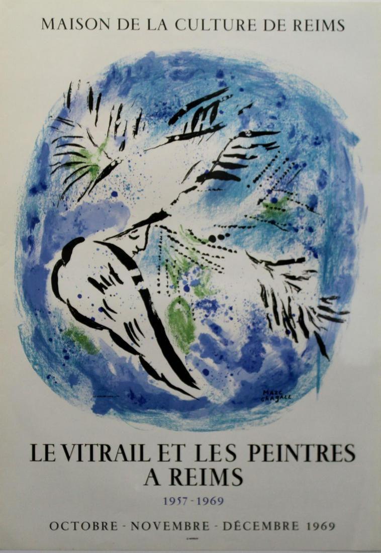 Marc Chagall - Maison de la Culture de Reims - Le