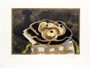 Georges Braque - Still Life with Bottles